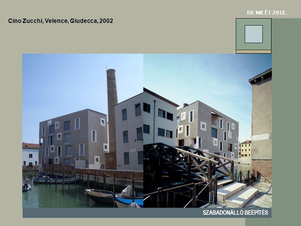 Cino Zucchi, Velence, Giudecca, 2002