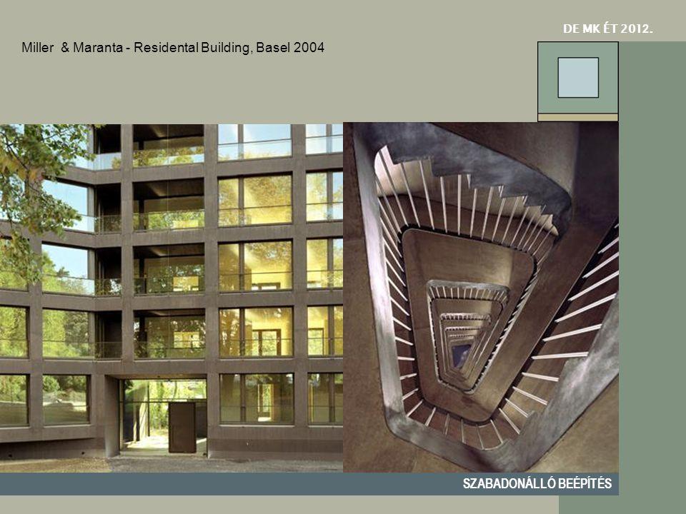 Miller & Maranta - Residental Building, Basel 2004
