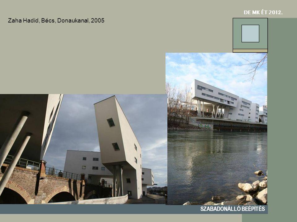 Zaha Hadid, Bécs, Donaukanal, 2005