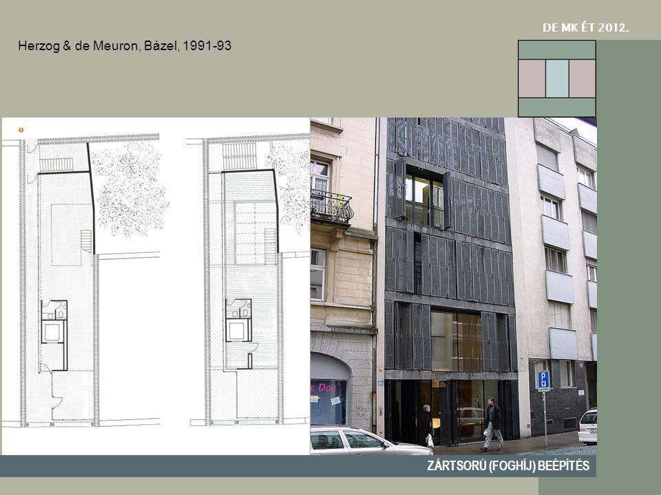 Herzog & de Meuron, Bázel, 1991-93