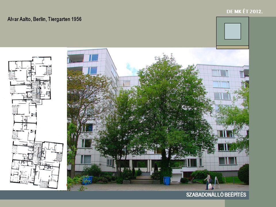 Alvar Aalto, Berlin, Tiergarten 1956