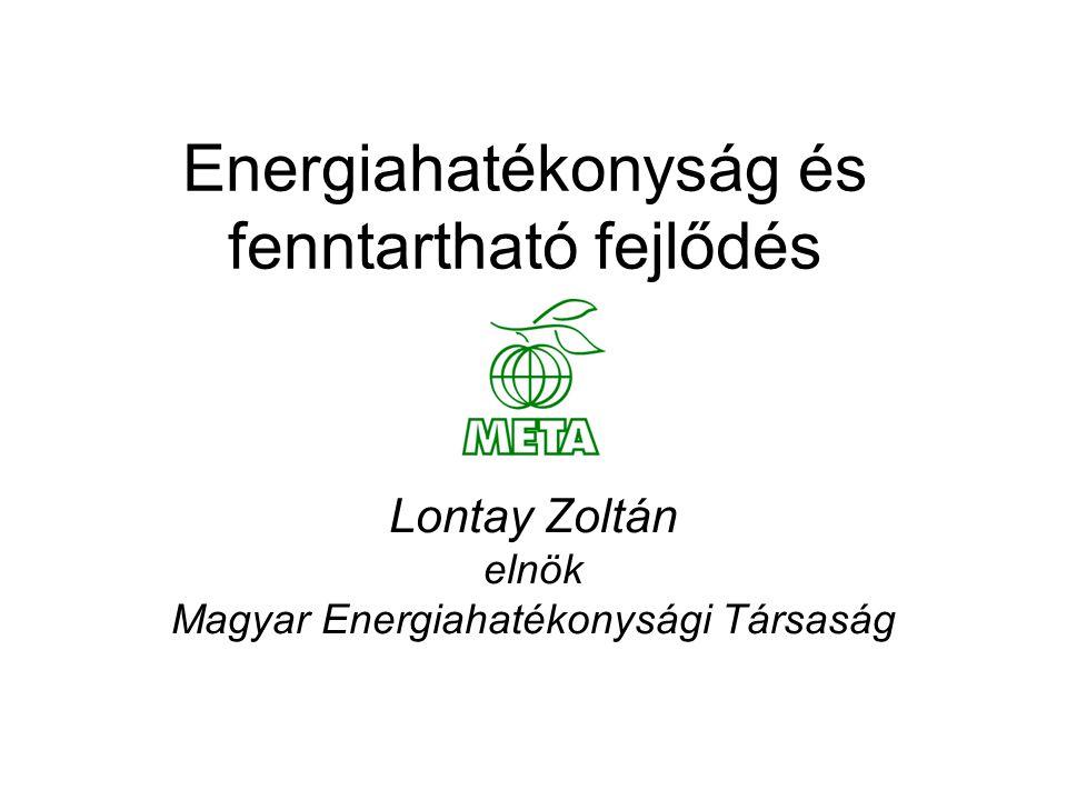 Energiahatékonyság és fenntartható fejlődés