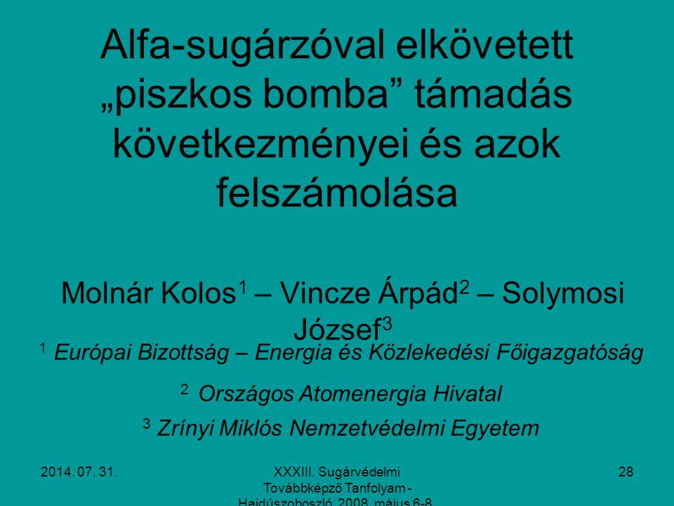 Molnár Kolos1 – Vincze Árpád2 – Solymosi József3