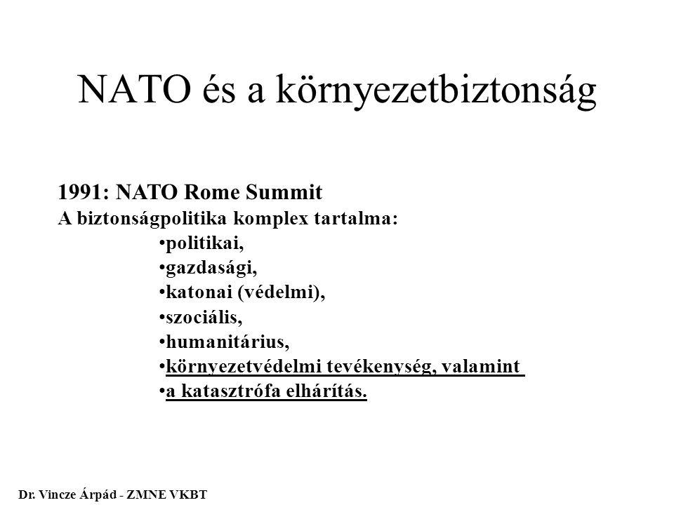 NATO és a környezetbiztonság