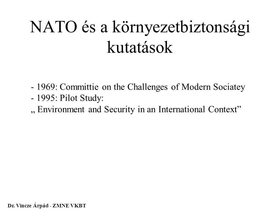 NATO és a környezetbiztonsági kutatások