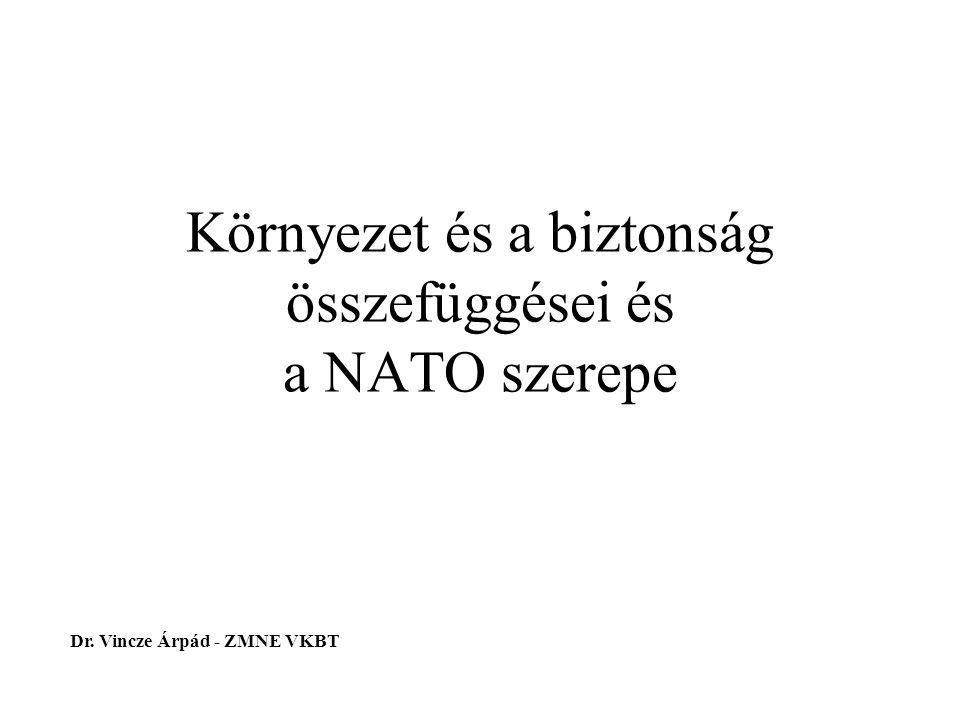 Környezet és a biztonság összefüggései és a NATO szerepe