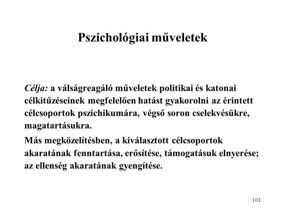 Pszichológiai műveletek