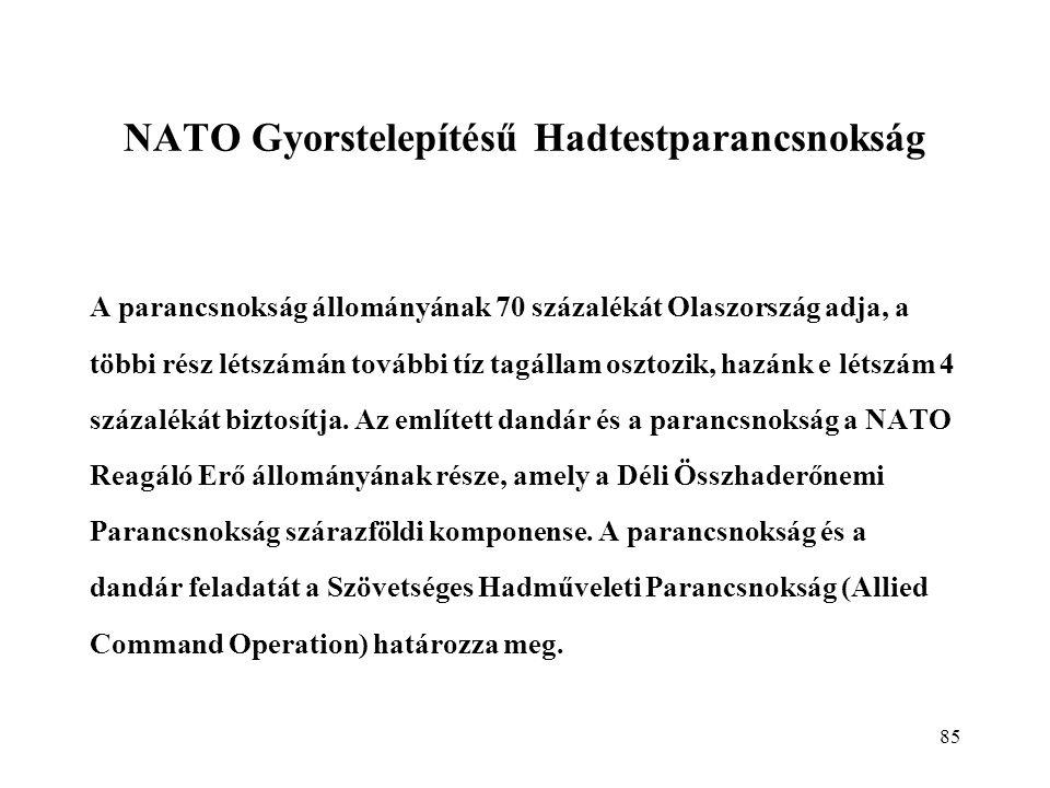 NATO Gyorstelepítésű Hadtestparancsnokság