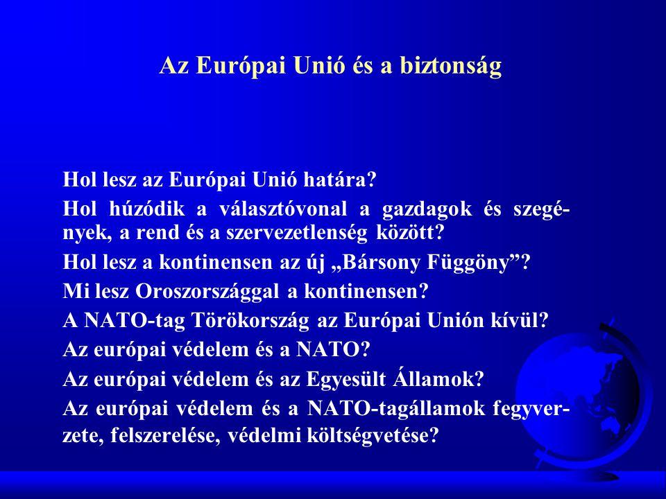 Az Európai Unió és a biztonság