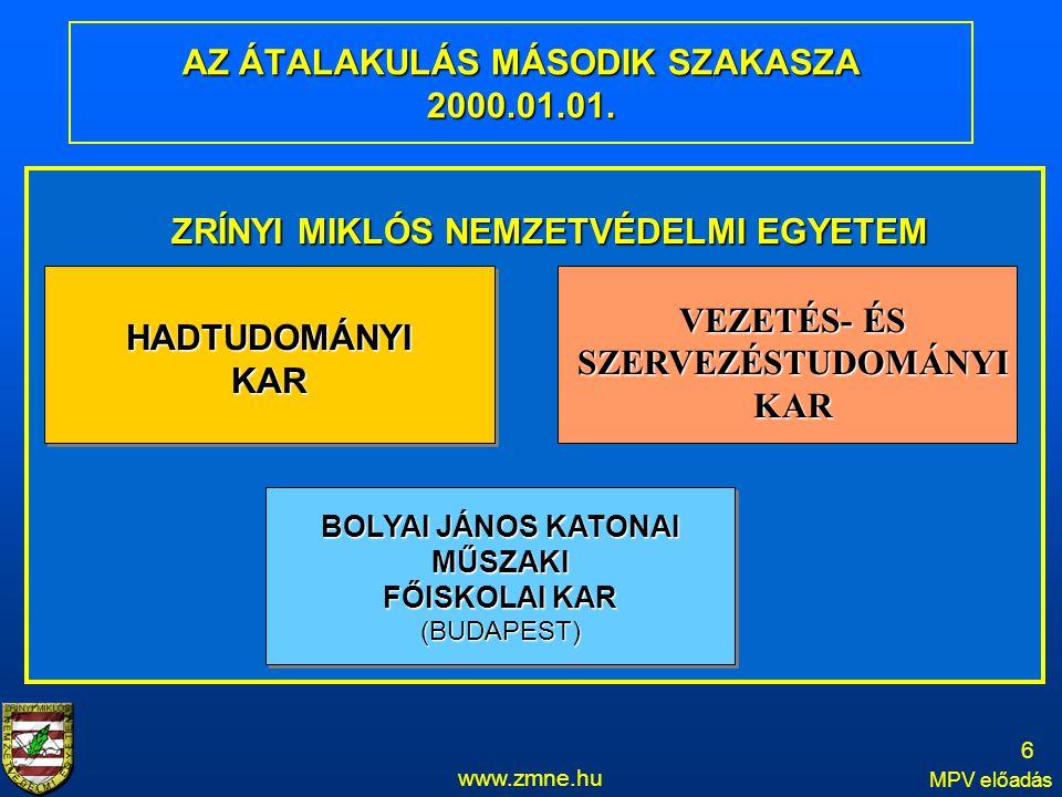 AZ ÁTALAKULÁS MÁSODIK SZAKASZA 2000.01.01.