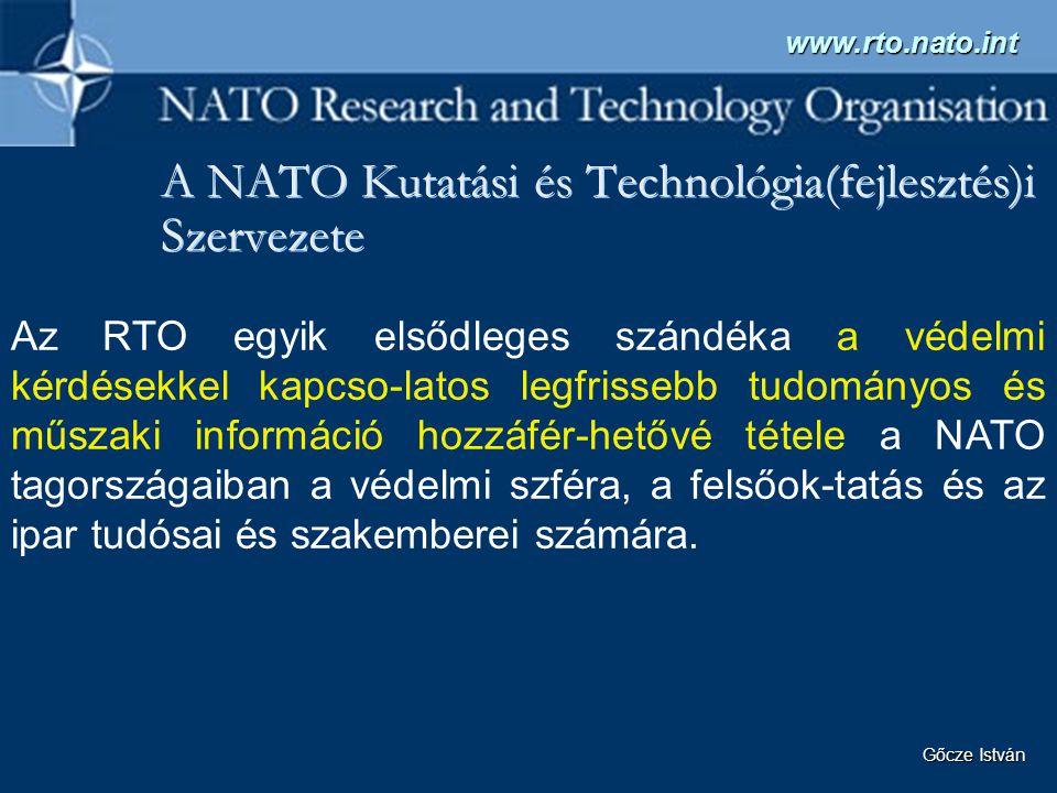 A NATO Kutatási és Technológia(fejlesztés)i Szervezete