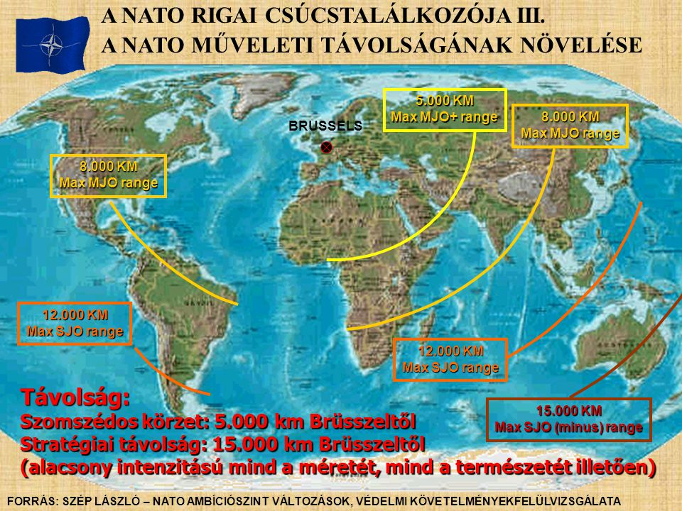A NATO RIGAI CSÚCSTALÁLKOZÓJA III.