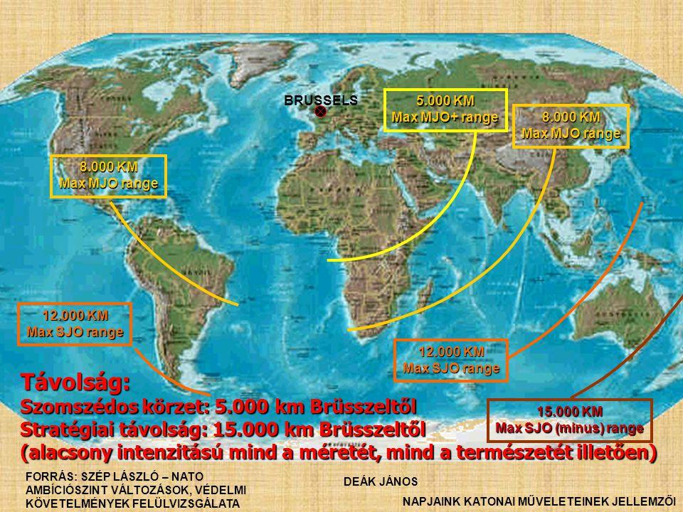 Távolság: Szomszédos körzet: 5.000 km Brüsszeltől