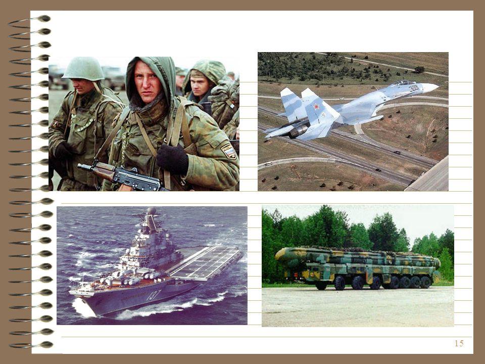 Néhány kép a haderőnemekről és a fegyvernemekről, valamint a különleges erőkről.