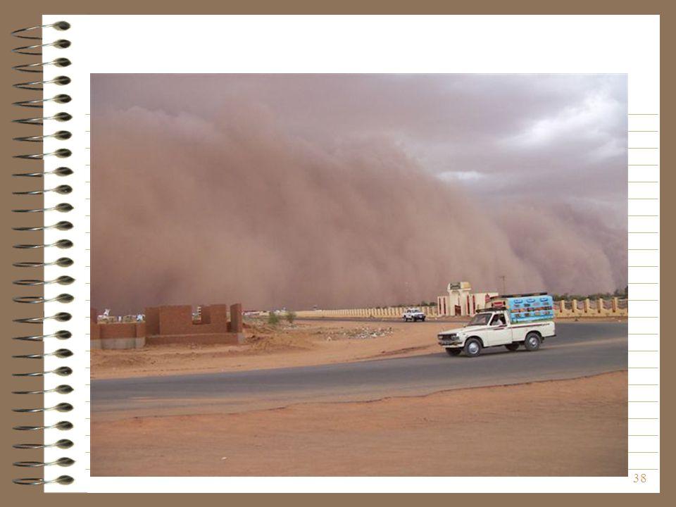 Ilyen a sivatagban a homokvihar - kezdete!