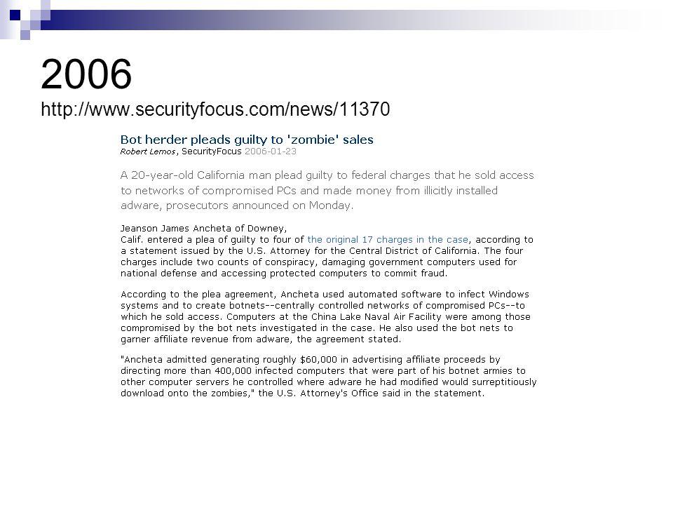 2006 http://www.securityfocus.com/news/11370