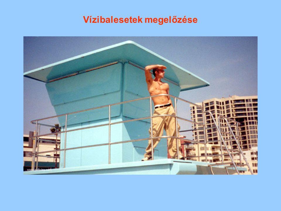 Vízibalesetek megelőzése