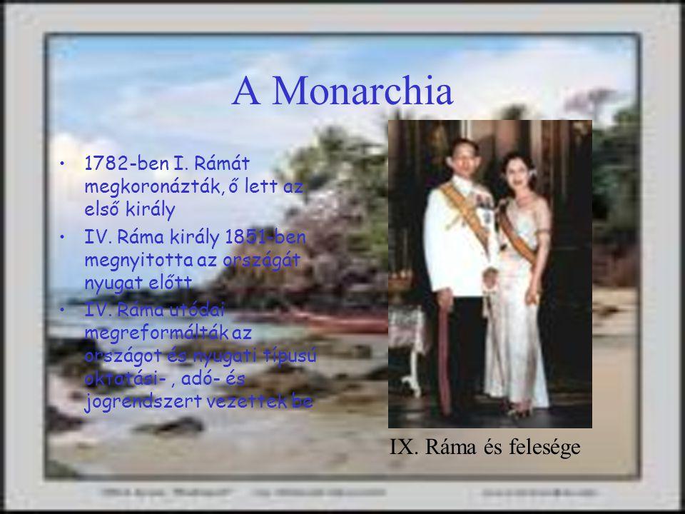 A Monarchia IX. Ráma és felesége