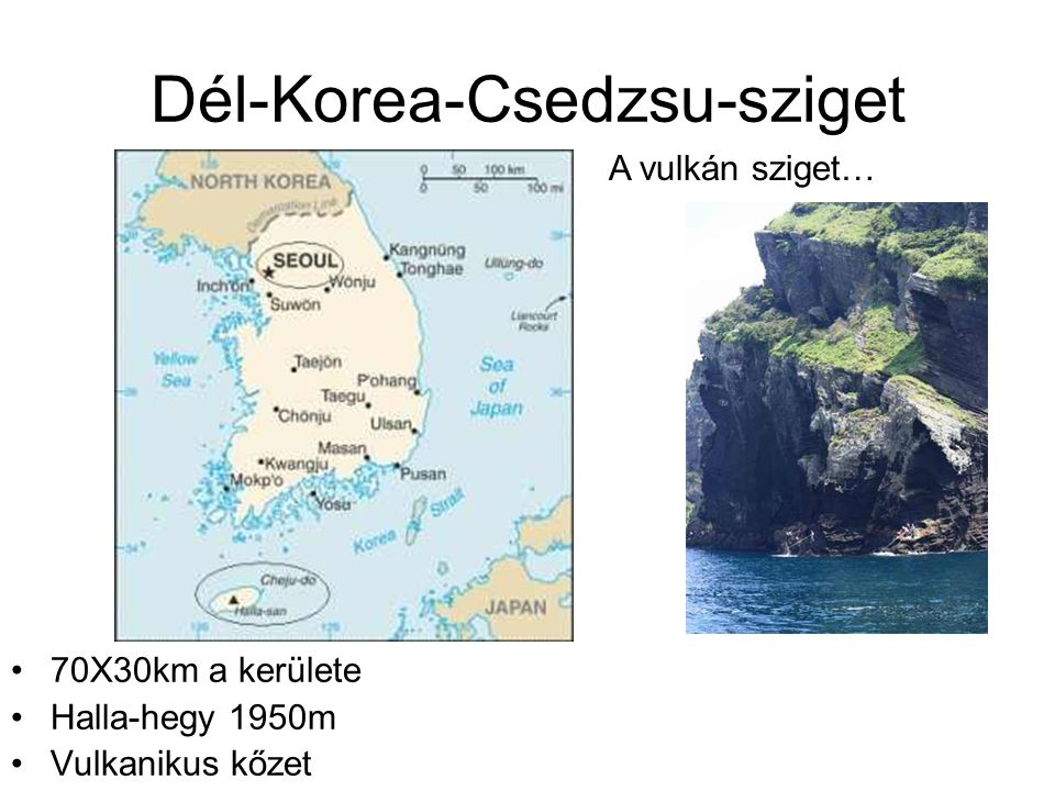 Dél-Korea-Csedzsu-sziget