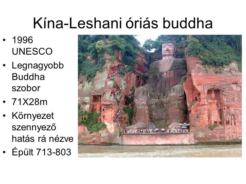 Kína-Leshani óriás buddha