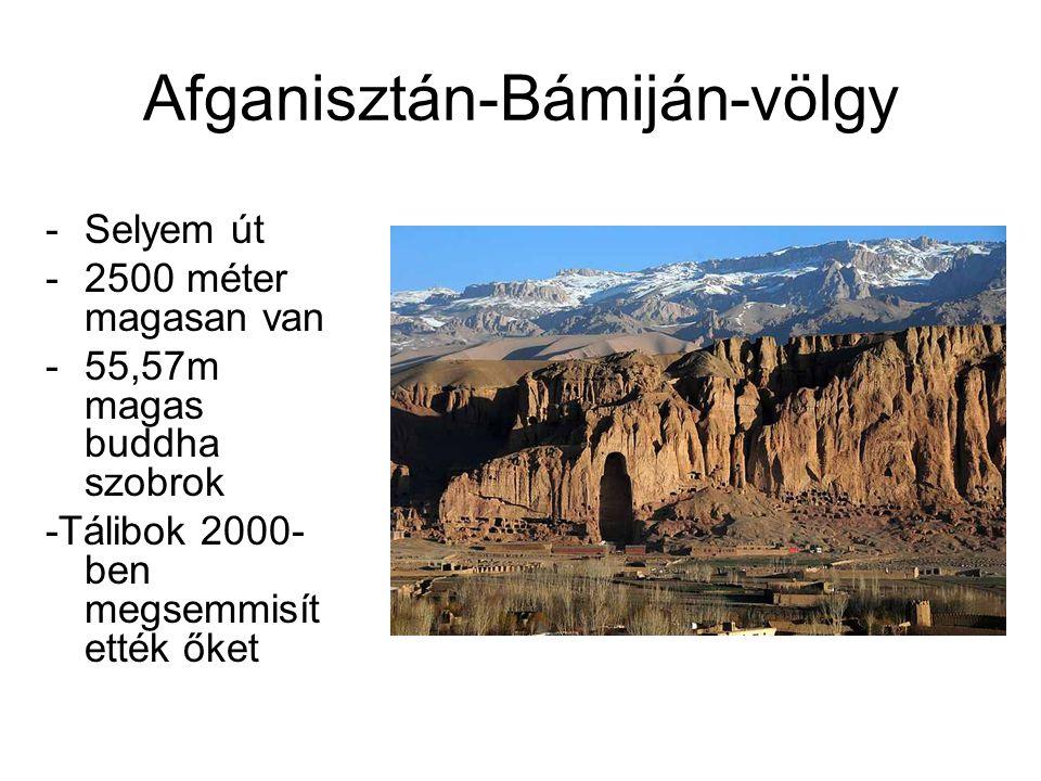 Afganisztán-Bámiján-völgy