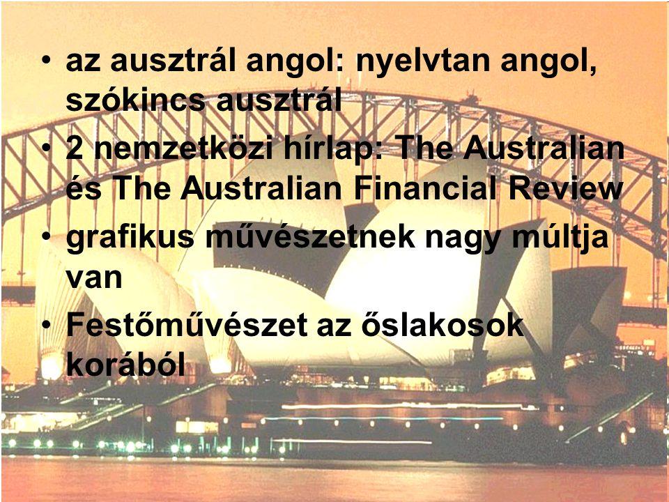 az ausztrál angol: nyelvtan angol, szókincs ausztrál