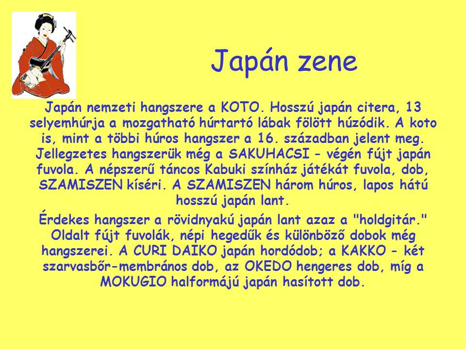 Japán zene