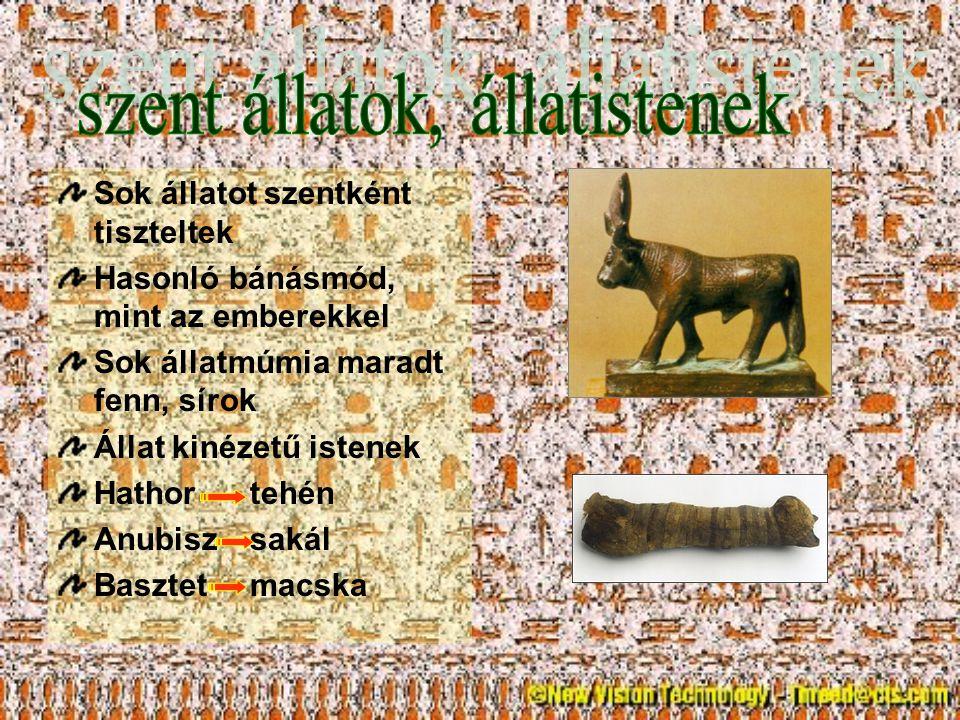 szent állatok, állatistenek