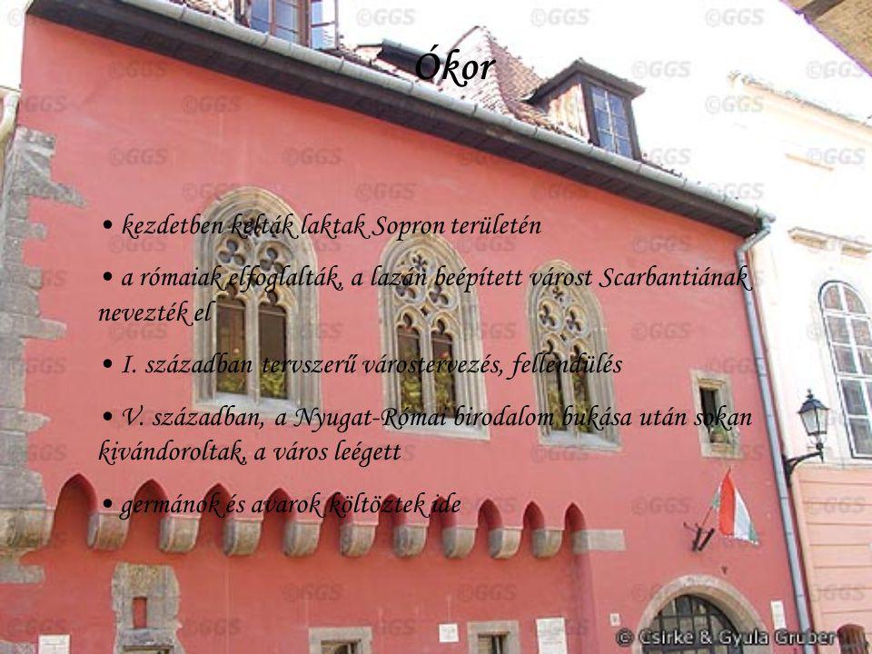 Ókor kezdetben kelták laktak Sopron területén