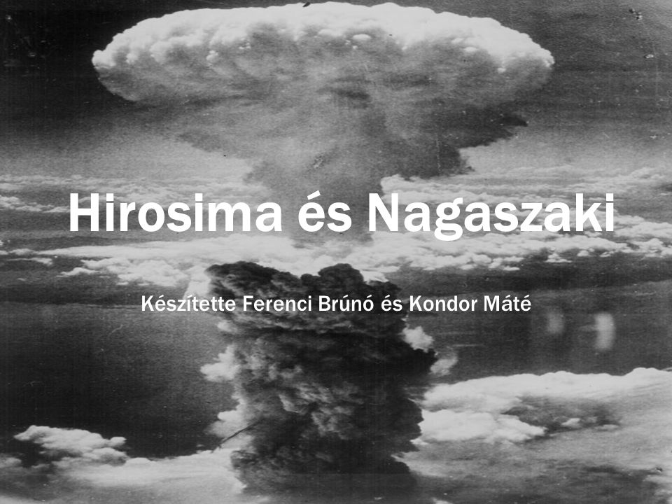 Készítette Ferenci Brúnó és Kondor Máté