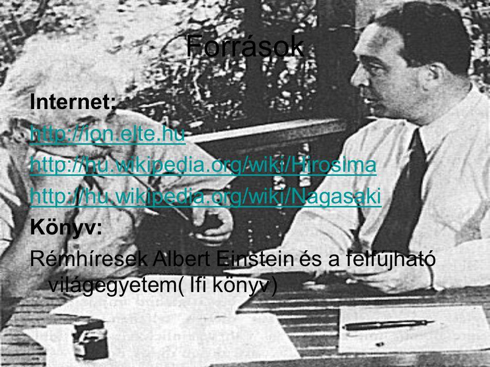 Források Internet: http://ion.elte.hu