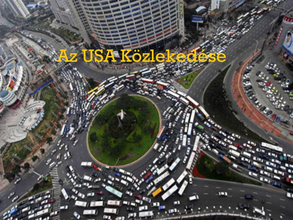 Az USA Közlekedése