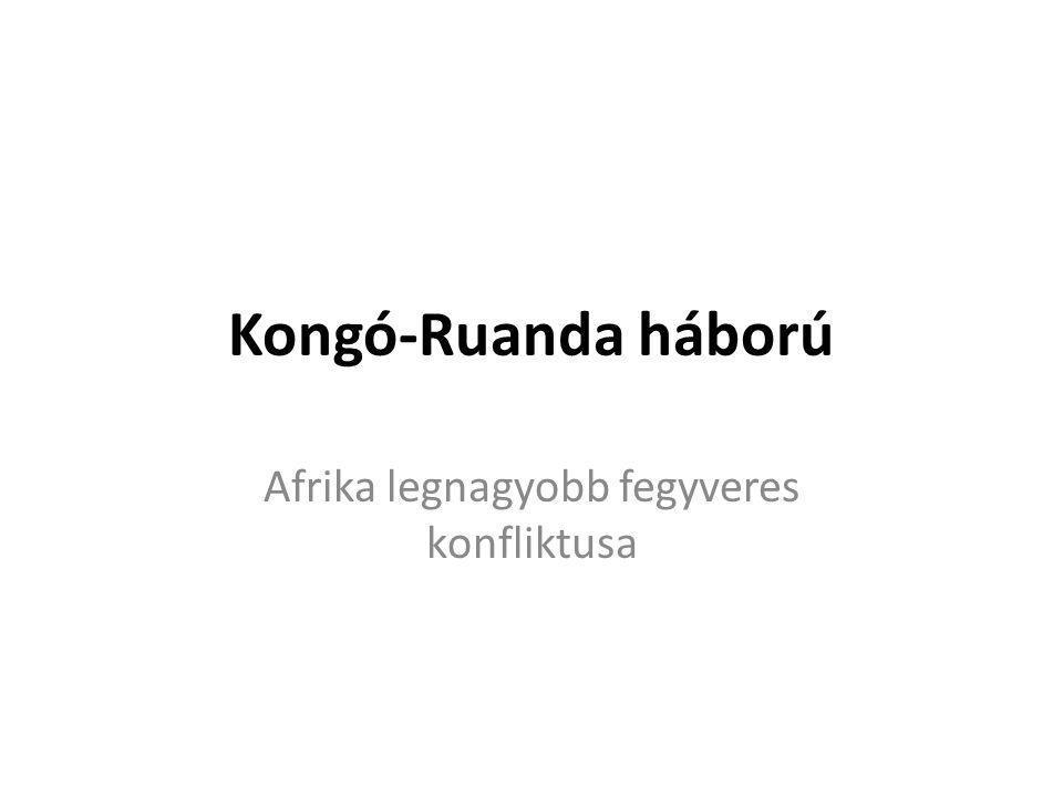 Afrika legnagyobb fegyveres konfliktusa