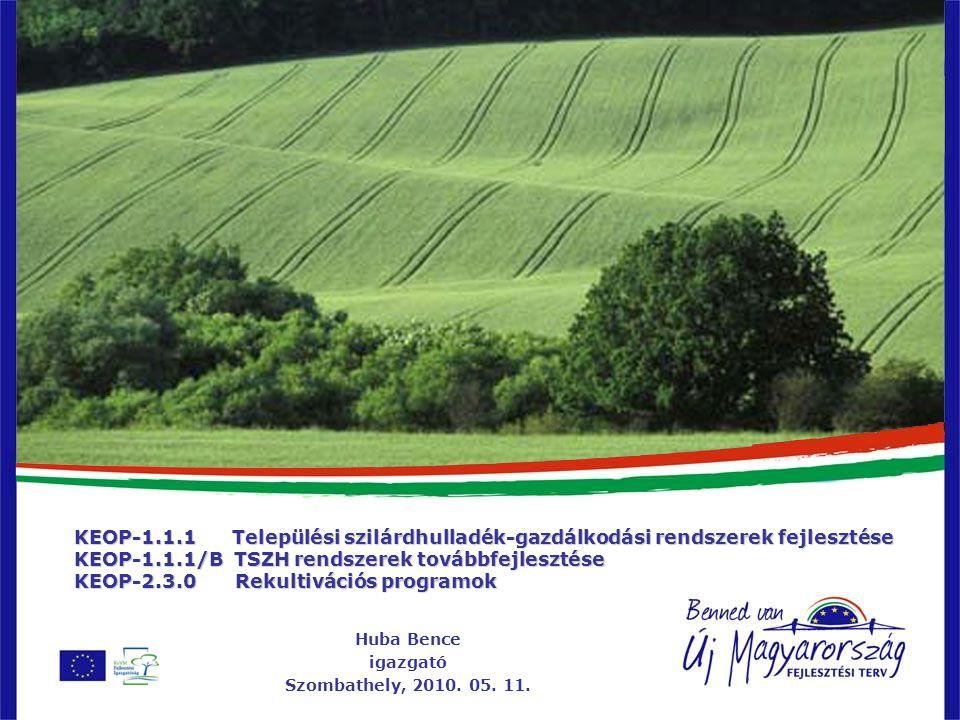 Huba Bence igazgató Szombathely, 2010. 05. 11.