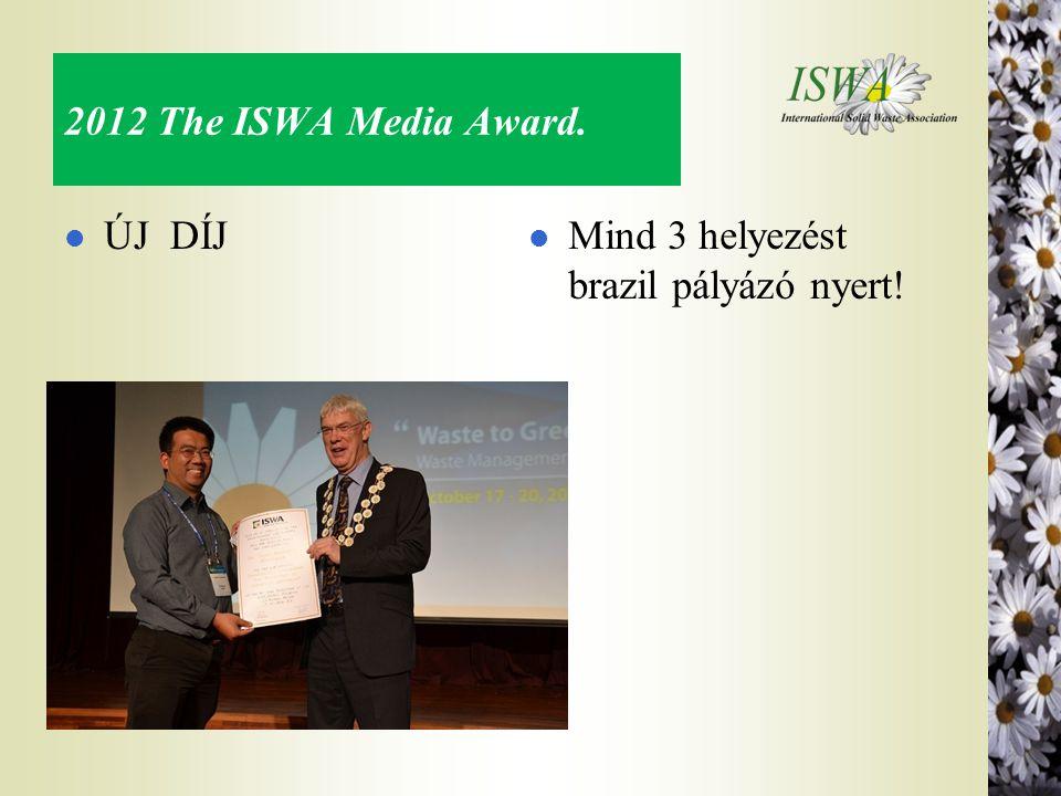 2012 The ISWA Media Award. ÚJ DÍJ Mind 3 helyezést brazil pályázó nyert!