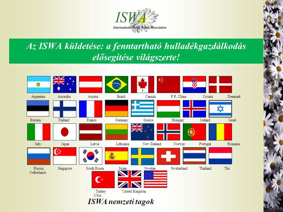 Az ISWA küldetése: a fenntartható hulladékgazdálkodás elősegítése világszerte!