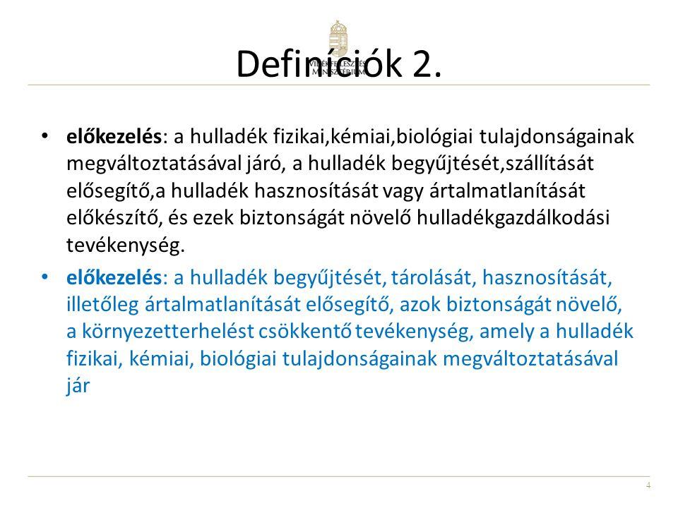 Definíciók 2.