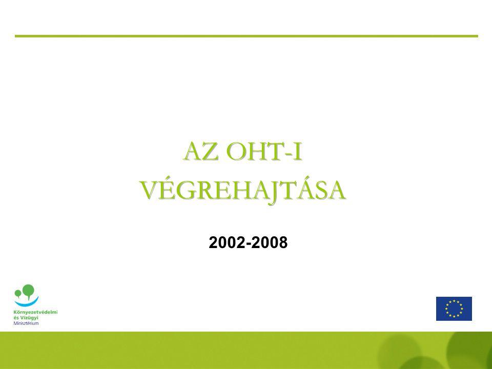 AZ OHT-I VÉGREHAJTÁSA 2002-2008