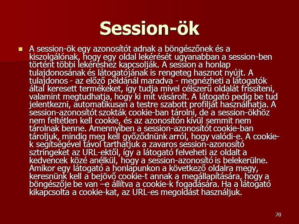 Session-ök