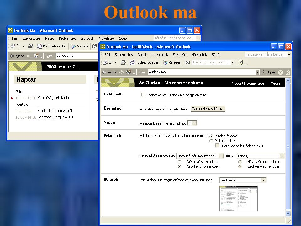 Outlook ma