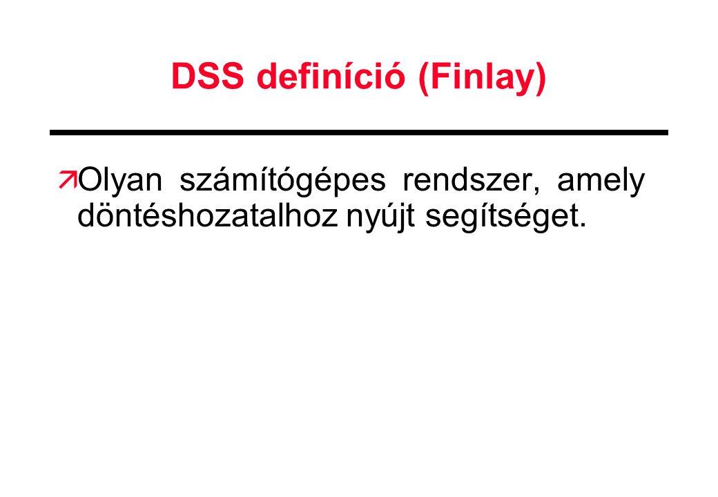 DSS definíció (Finlay)