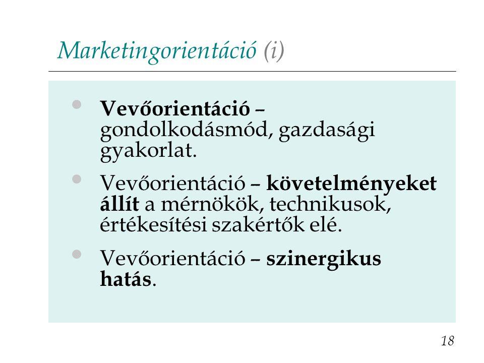 Marketingorientáció (i)