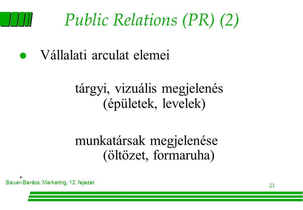 Public Relations (PR) (2)
