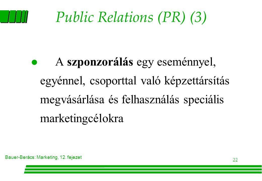 Public Relations (PR) (3)