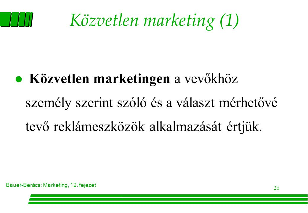 Közvetlen marketing (1)