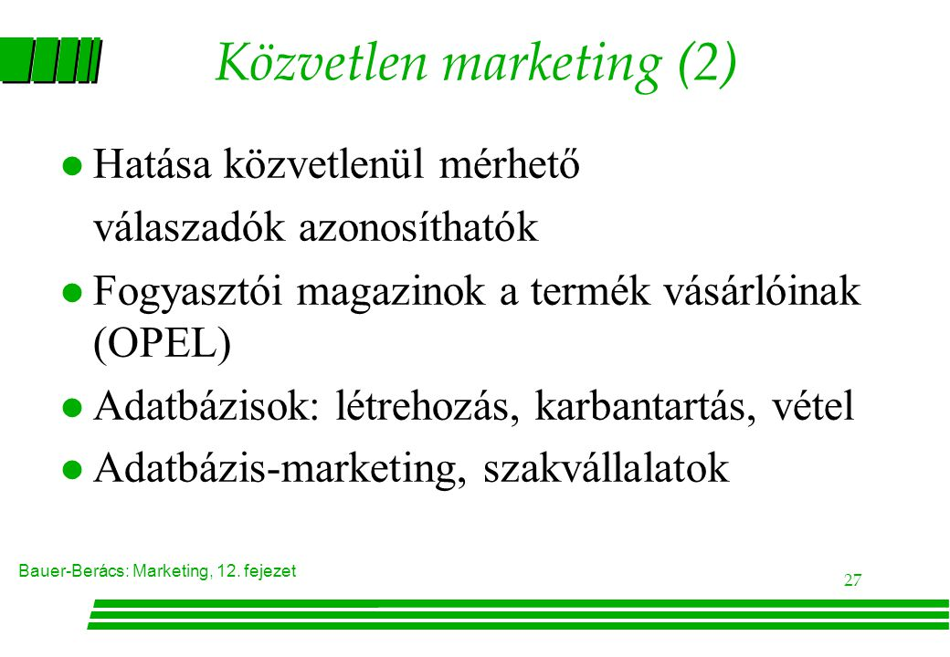 Közvetlen marketing (2)