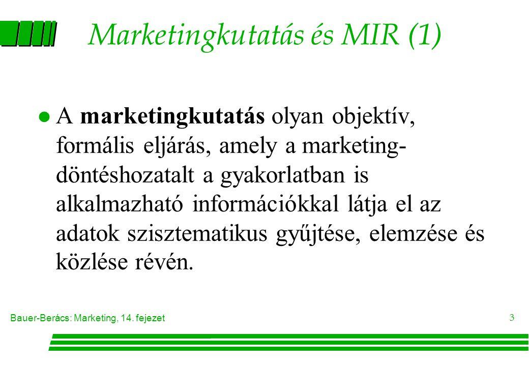 Marketingkutatás és MIR (1)