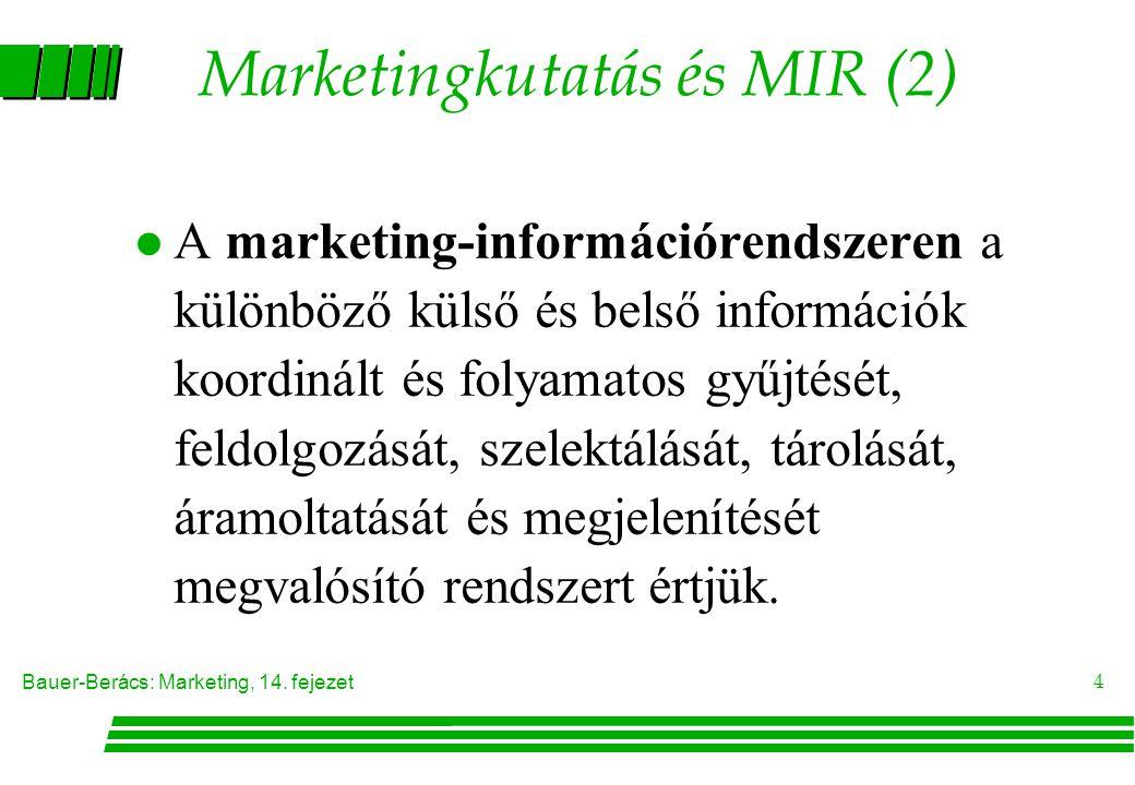 Marketingkutatás és MIR (2)