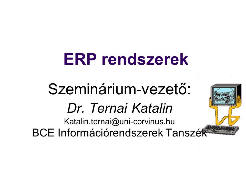 BCE Információrendszerek Tanszék