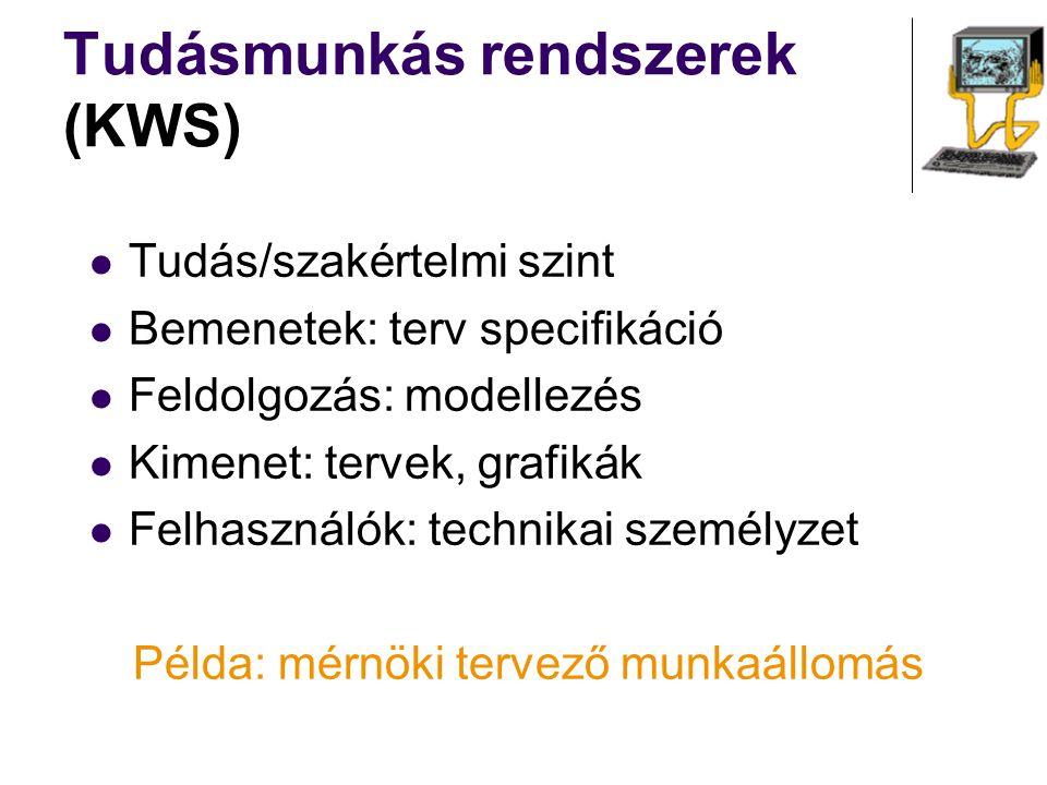 Tudásmunkás rendszerek (KWS)